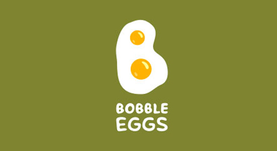 bobble eggs 2013 inspiring logo design