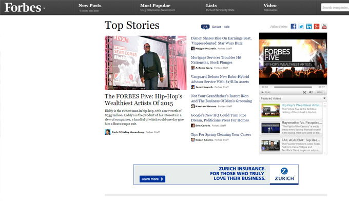 forbes magazine website blog