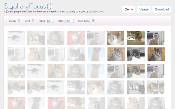 jquery focus plugin open source codes