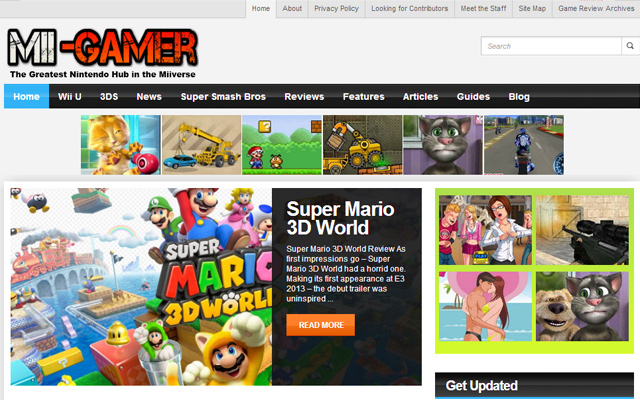 mii gamer blog website magazine nintendo news
