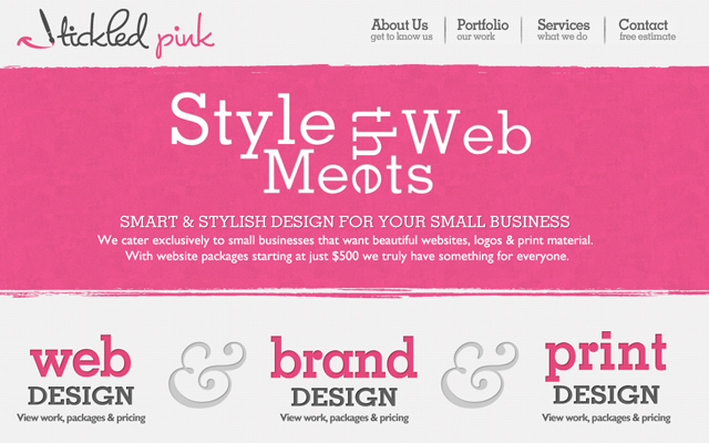 tickled pink design girly fashions products homepage