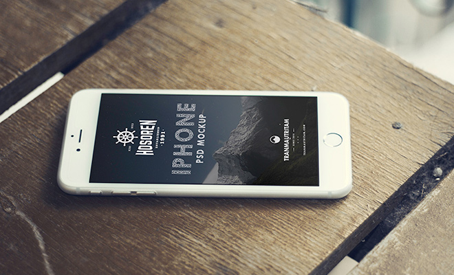 ten photorealistic iphone6 freebie psd