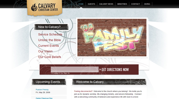 35 Amazingly Well-Designed Church Websites