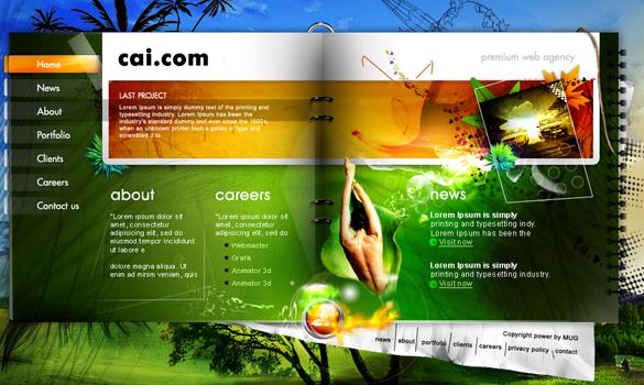 web agency web design