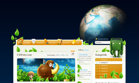 Wordpress Fairy Theme