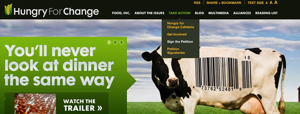 Hungry For Change - Food Inc. Movie