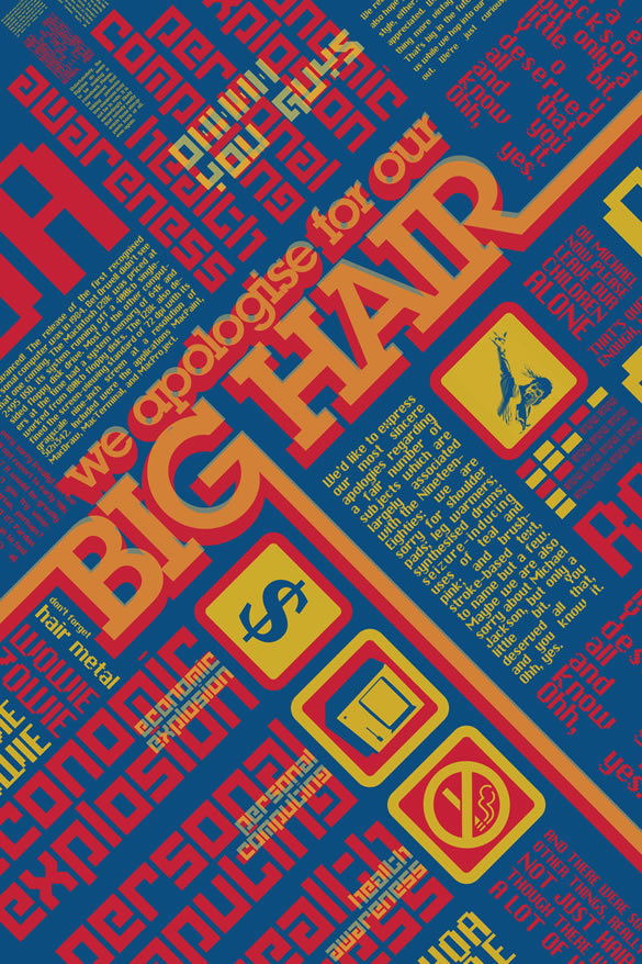 20 Insane Vintage And Grungy Typographic Poster Designs