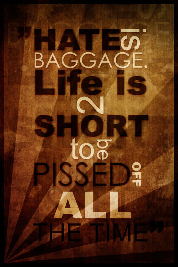 typography-hate-is-baggage