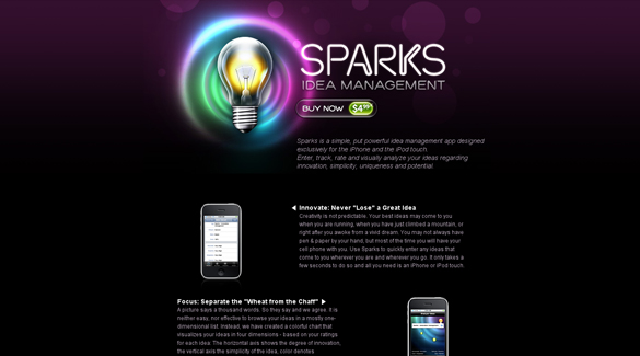 Sparks Idea Management