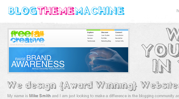 Blog Theme Machine