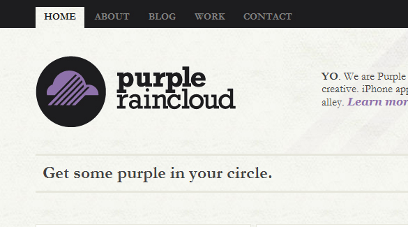 Purple Raincloud