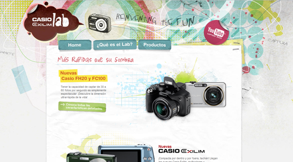 Casio Exilim Lab