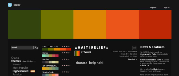 20 Color Combination Tools for Designers