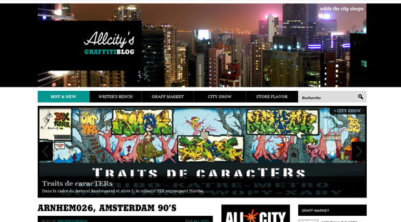 All City Graffiti Blog