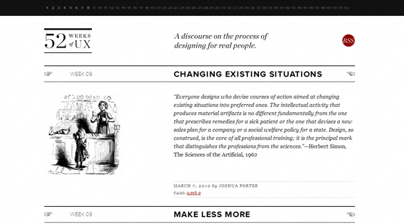 40 Amazing Minimalist Website Designs For Your Inspiration