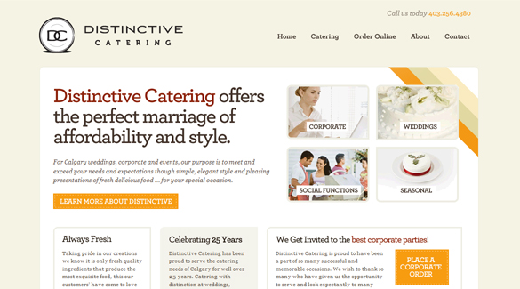 Distinctive Catering