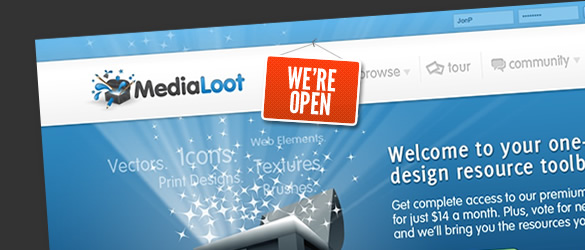 MediaLoot Launch – Come In, We're Open!