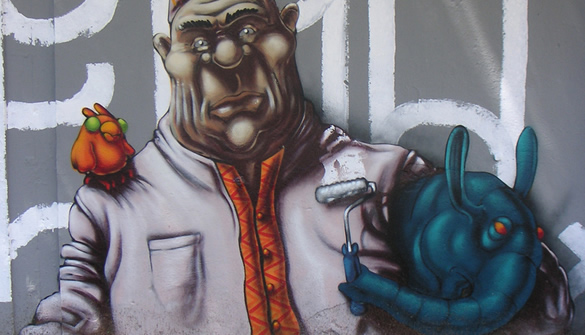 Featured image for Unusual Sources Of Inspiration- 50 Killer Graffiti Characters To Inspire You