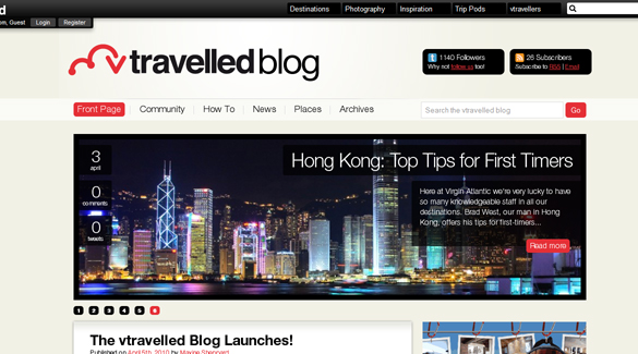 Travelled Blog