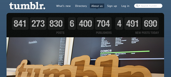 30 Awesome Custom Tumblr Blog Designs
