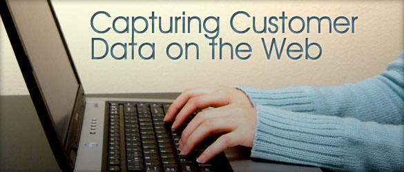 Capturing Customer Data on the Web