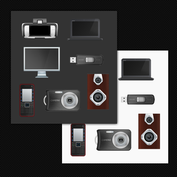 Tech And Home Office Icon Set