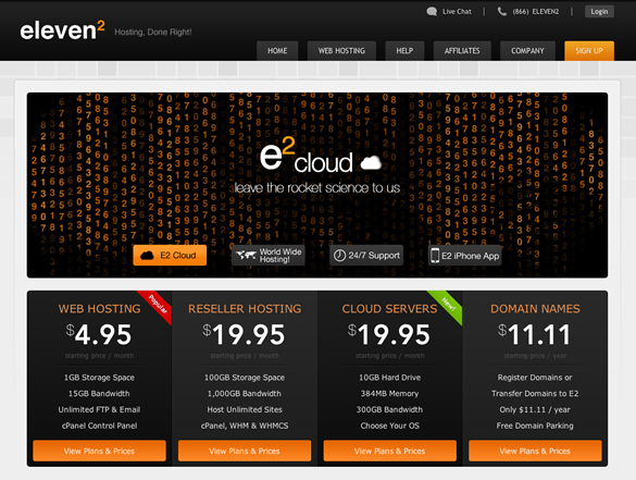 Enter To Win Hosting Accounts From Eleven2