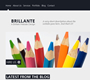 Brilliante Website/Blog Layout (PSD)