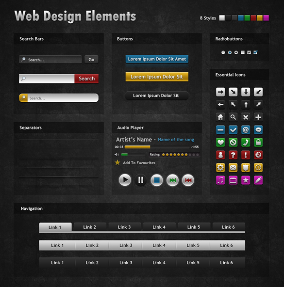 Dark Web Elements