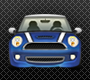 Large Detailed Mini Cooper Icon