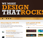 Rockin' Website Layout (PSD)