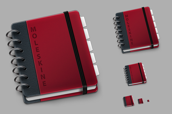 Red Moleskine