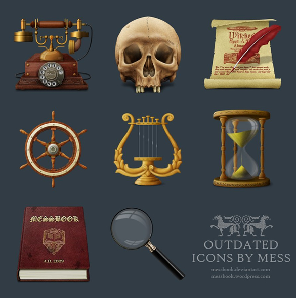 Outdated Icons
