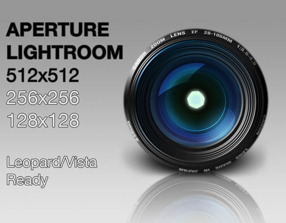 Lightroom Aperture Icon