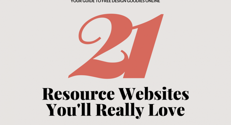 21 Free Design Resource Websites For Commercial Use That You'll Really Love