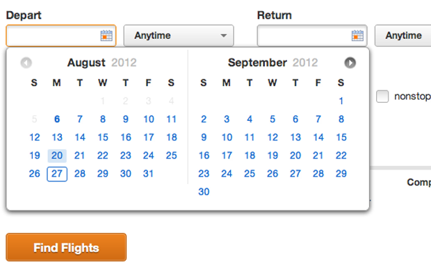 website ui interface design calendars patterntap