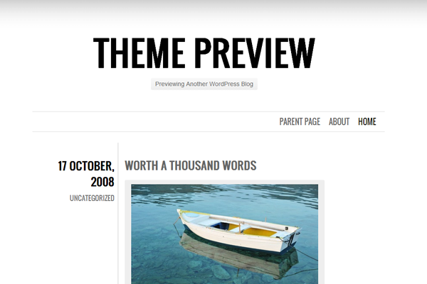 big chunk theme wordpress layout interface