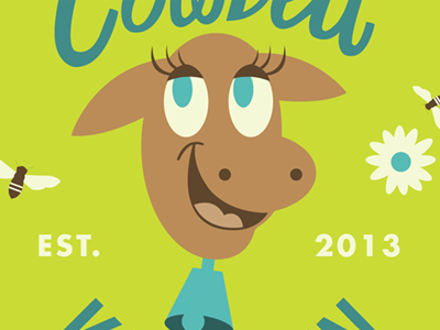 illustration cowbell interface graphics