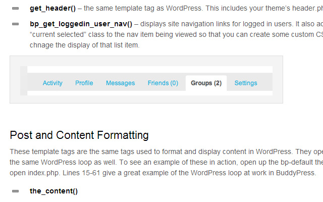 how to tutorial develop buddypress themes templates