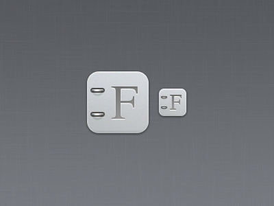 iPhone iOS Font Book icon