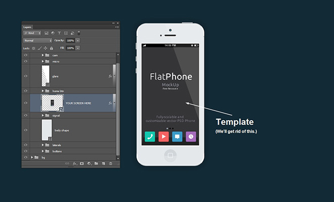 photoshop cs6 tutorial flat ios7 app
