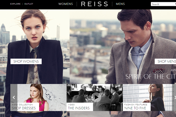 Reiss clothing brands fashion