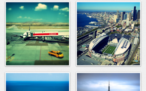 tiltshift js oen source plugin photographs