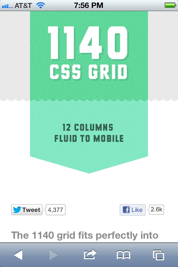 CSS3 Grids in Responsive Design