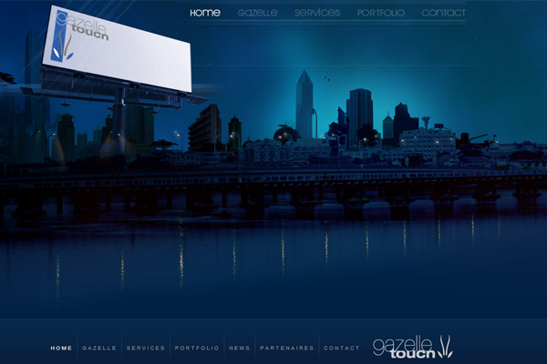 dark city background photos website design inspiration