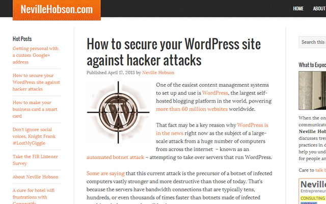 tips guide to secure wordpress website from attacks