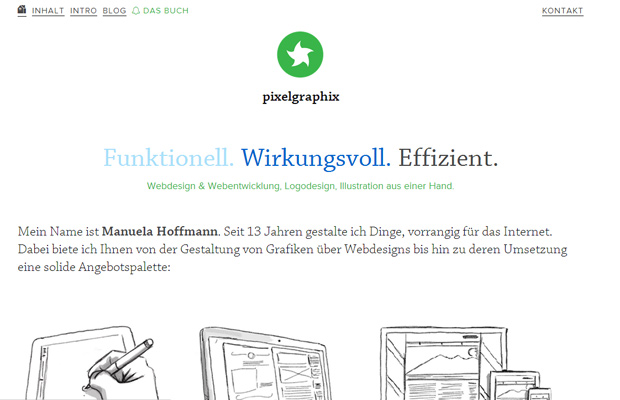 pixelgraphix website german design portfolio
