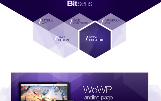 bitsens custom technology personal homepage layout