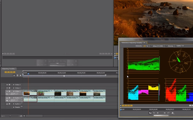 adjusting tonality premiere pro cs6 tutorial