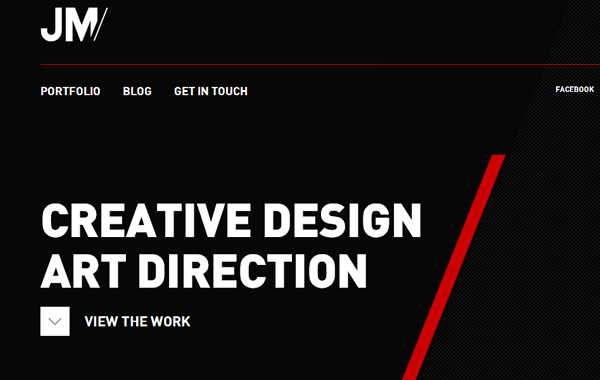 James Monaghan portfolio personal freelance website